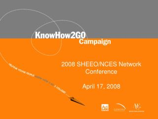 2008 SHEEO/NCES Network Conference April 17, 2008