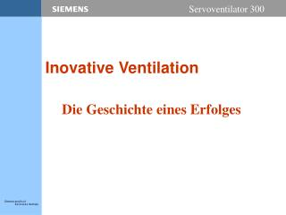 Inovative Ventilation