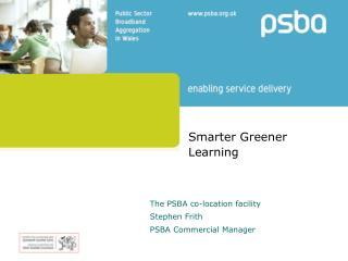 Smarter Greener Learning