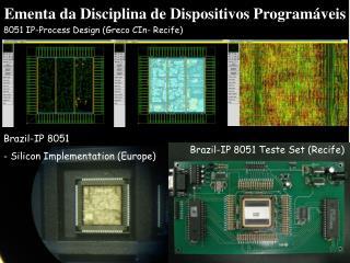 Ementa da Disciplina de Dispositivos Programáveis