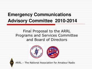 Emergency Communications Advisory Committee  2010-2014