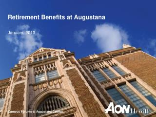 Retirement Benefits at Augustana