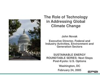 The Role of Technology in Addressing Global Climate Change