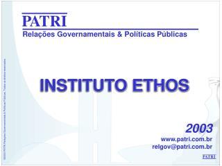 Rela��es Governamentais & Pol�ticas P�blicas