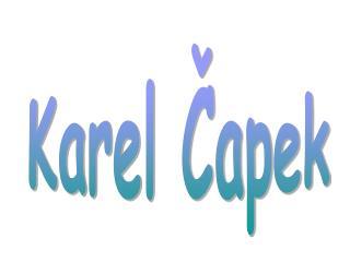 Karel ?apek