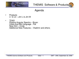 THEMIS  Software & Products