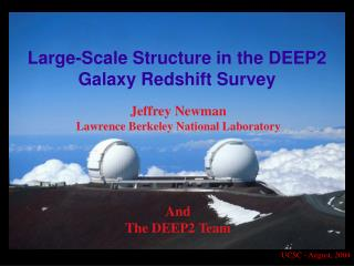 Large-Scale Structure in the DEEP2 Galaxy Redshift Survey