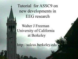 Title: Tutorial for ASSC9 24 June 2005