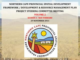 Provincial Spatial Development Framework/Development & Resources Management Plan