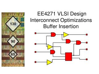 EE4271 VLSI Design Interconnect Optimizations  Buffer Insertion