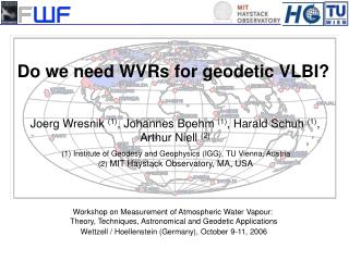 Do we need WVRs for geodetic VLBI?