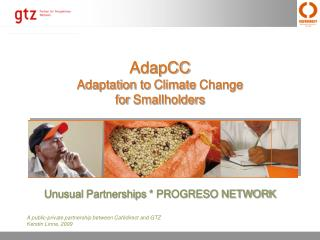 AdapCC Adaptation  to Climate  Change for Smallholders