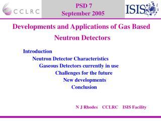 PSD 7 September 2005