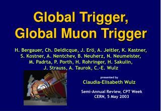 Global Muon Trigger