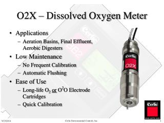 O2X – Dissolved Oxygen Meter