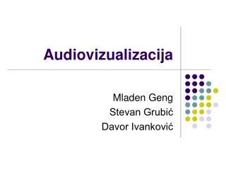 Audiovizualizacija