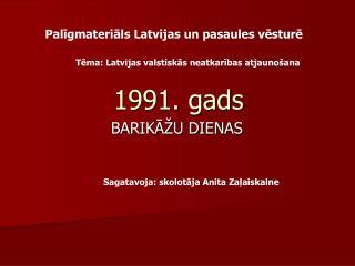 1991. gads
