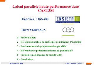 Jean-Yves COGNARD  Pierre VERPEAUX