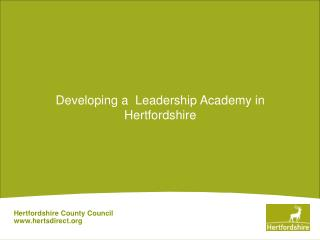 Hertfordshire County Council hertsdirect