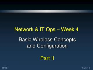 Network & IT Ops – Week 4