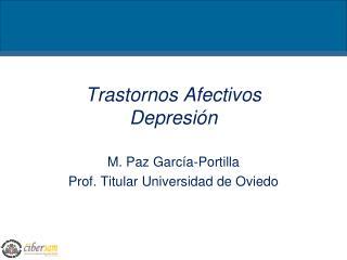 Trastornos Afectivos Depresi�n