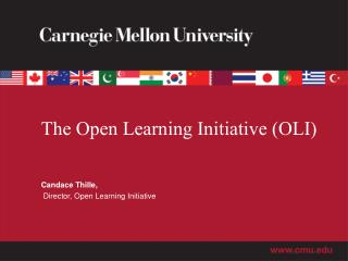 The Open Learning Initiative (OLI)