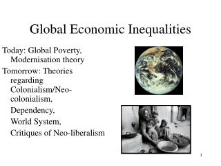 Global Economic Inequalities