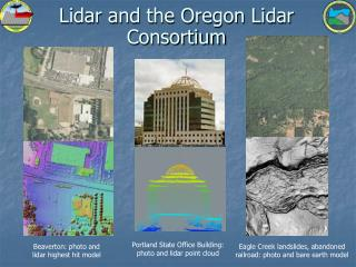 Lidar and the Oregon Lidar Consortium