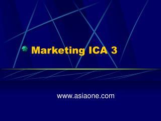 Marketing ICA 3