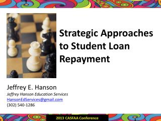 Strategic Approaches to Student Loan Repayment