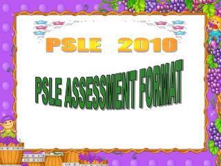 PSLE   2010