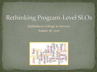 Rethinking Program-Level SLOs