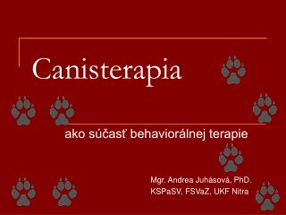 Canisterapia