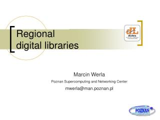 Regional   digital libraries