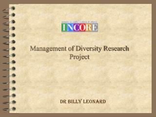 Management of Diversity Research Project