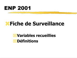 ENP 2001
