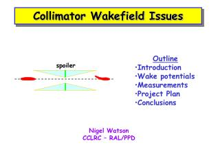 Collimator Wakefield Issues