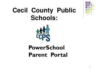 Cecil County Public Schools: