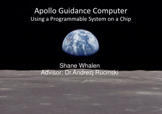 Apollo Guidance Computer Using a Programmable System on a Chip