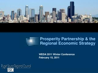 Prosperity Partnership & the Regional Economic Strategy