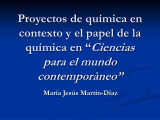 María Jesús Martín-Díaz