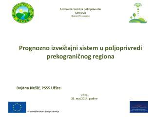 Federalni zavod za poljoprivredu  Sarajevo Bosna i Hercegovina