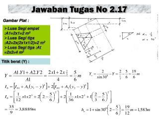 Jawaban Tugas No 2.17