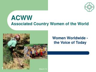 ACWW Associated Country Women of the World