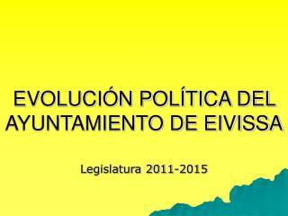 EVOLUCIÓN POLÍTICA DEL AYUNTAMIENTO DE EIVISSA