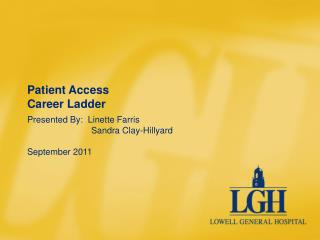 Patient Access Career Ladder
