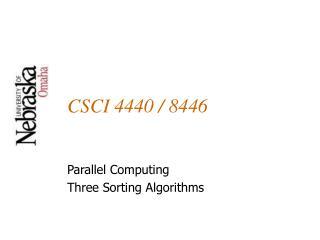 CSCI 4440 / 8446