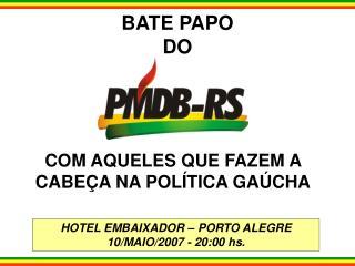 BATE PAPO DO