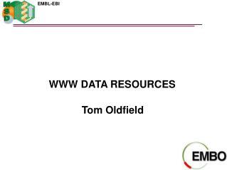 WWW DATA RESOURCES