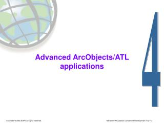 Advanced ArcObjects/ATL applications